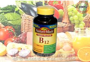 Viên uống bổ sung B12 vitamin 1000 mcg Timed Release Nature Made hộp 375 viên hàng nhập từ  Mỹ, chứa đầy đủ hàm lượng vitamin cần thiết cung cấp cho cơ thể mỗi ngày đảm bảo sự đầy đủ vitamin B12 trong cơ thể. Giá bán 449.000đ.