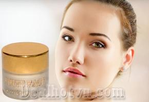 Kem làm trắng da mặt White Face - Thái Lan với thành phần tự nhiên, dạng đặc dễ thoa và hấp thụ vào da, giúp xóa nhanh vết nám, thâm, sạm da và các loại mụn, cung cấp dưỡng chất cho da luôn sáng mịn. Giá 59.000đ