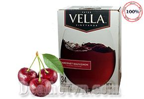 Hộp Rượu Vang Vella Cabernet Sauvignon New Look California Table Wine 5 lít - hàng nhập từ Mỹ hương vị nồng nàn, tuyệt vời, mang đến cho bạn những trải nghiệm thú vị và giàu cảm xúc. Giá 500.000đ.