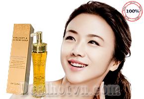 Sirum dưỡng tái tạo da Collagen & Luxury Gold cao cấp 3W CLINIC 150ml - chính hãng Korea lấy lại vẻ săn chắc, trắng sáng và tươi trẻ cho làn da với Collagen và tinh chất vàng 24k. Chỉ với 195.000đ.