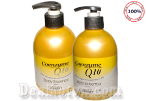 Sữa Dưỡng Thể Chống Lão Hóa Da Coenzyme Q10 400ml – chính hãng Korea giúp bạn gái sở hữu làn da luôn trắng hồng, tươi trẻ cùng các thành phần giúp chống nhăn, lão hóa. Chỉ với 120.000đ.