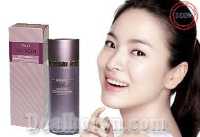 Nước hoa hồng Cellio 140ml – Korea với thành phần Collagen giúp thúc đẩy quá trình tái tạo da, ngăn ngừa lão hóa, làm sạch các lớp trang điểm, bụi bẩn, tế bào chết từ lỗ chân lông cho bạn làn da săn chắc, mịn màng. Giá 180.000đ.