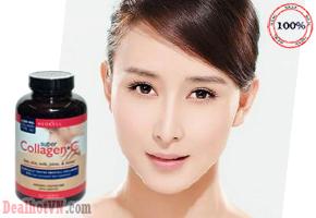 Viên Uống Đẹp Da Super Collagen +C Type 1&3 250 Viên Hàng Nhập Từ Mỹ. Giúp Chống Lão Hóa, Giảm Thiểu Nếp Nhăn, tăng cường sự đàn hồi và giữ gìn tốt độ ẩm của da. Giá 430.000đ.
