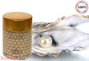 Kén Ngọc Trai Golden AGE trắng da – hàng nhập  từ  Korea giải pháp hoàn hảo cho làn da trắng mịn một cách nhẹ nhàng, hiệu quả và an toàn cho mọi loại da. Giá 350.000đ.