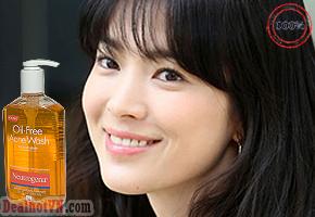 Gel rửa mặt kiểm soát nhờn và ngăn ngừa trị mụn Neutrogena Oil-Free Acne Wash 269ml – hàng chính hãng Mỹ. Giá 230.000đ chỉ có tại Dealhotvn.com
