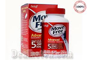 Schiff glucosamine Move free Advanced- 200 viên là sản phẩm trị đau xương khớp hiệu quả và được yêu thích hàng đầu của Mỹ. Chuyên trị thoái hóa khớp, đau khớp gối, cắt nhanh các cơn đau xương khớp, tăng độ đàn hồi của xương cho xương chắc khỏe. Giá 670.000đ.