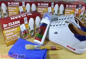 Dr. Clean hàng nhập từ tây Ban Nha -Chuyên gia làm sạch, sẽ giúp bạn đánh bật mọi vết bẩn trên bề mặt mọi chất liệu da giày dép túi_sách ghế_da……Giá 110.000đ.