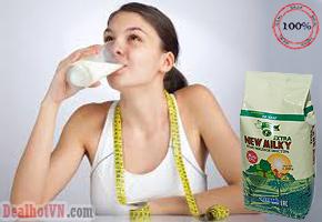 Sữa uống tăng cân New Milky Extra 1 kg - xuất xứ từ Hàn Quốc nhập khẩu từ Nga