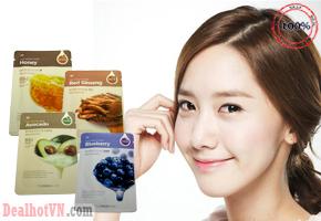 Combo 6 miếng Mặt nạ dưỡng da Thefaceshop - Hàn Quốc Real Nature Mask Sheet chăm sóc da mặt với khả năng thẩm thấu nhanh chóng, mang lại hiệu quả dưỡng ẩm cho làn da sáng mịn mà không mất nhiều thời gian của bạn. Thích hợp cho mọi loại da.