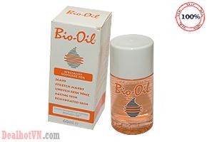 Tinh dầu Bio-Oil làm mờ sẹo, thâm nám, vết rạn da 60ml- hàng chính hãng Úc. Giá 210.000đ đang có tại dealhotvn.com!