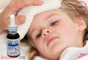 Thuốc cảm cúm trẻ em Childrenn Cold & Flu Relief Natrabiovới  thành phần tự nhiên, an toàn cho bé, giảm nhanh các triệu chứng cảm cúm ở trẻ, giúp trẻ hết khó chịu, quấy khóc. Bé khỏe, mẹ vui. Giá 250.000đ
