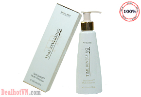 Sữa rửa mặt đa công dụng Time Reversing Skin Genist trade Multi Cleanser 150ml- hàng nhập khẩu từ Thụy Điển thương hiệu Oriflame. Giá sale 120.000đ. Chỉ có tại Dealhotvn.con.