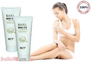 Dưỡng da trắng mịn màng tự nhiên cùng Kem dưỡng thể Snail White MCY mẫu mới – Hong Kong với giá giảm hấp dẫn chỉ 65.000đ. Chỉ có tại Dealhotvn.com!