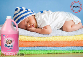 Bình Nước Xả Vải Comfort 3.8l hàng nhập từ Thái Lan với công thức 1 lần xả cho quần áo mềm mịn hương thơm tươi mát, sáng đẹp tươi màu và an toàn cho da. Chỉ 128.000đ cho sản phẩm trị giá 300.000đ. Tại Dealhotvn.com!