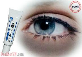 Cream Kumargic eye sản phẩm chăm sóc riêng dành cho đôi mắt, hỗ trợ tuần hoàn máu, xua tan quầng thâm, bọng mắt, ngăn ngừa và cải thiện nếp nhăn, cho bạn đôi mắt long lanh và sáng khỏe, đầy thu hút. Giá 195.000đ .