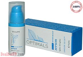 Serum dưỡng trắng da White Oxygen Boost Optimals Oriflame 30ml - hàng nhập từ Ấn Độ. Giúp da thâm nám trở nên trắng sáng mịn màng ngay lập tức. Chỉ với giá 35.000đ.