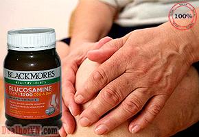 Blackmores Glucosamine 1500mg One-A- Day - Loại mới nhất: hỗ trợ giảm viêm, đau khớp hiệu quả. Mỗi ngày 1 viên, giúp giảm viêm và sưng khớp, đồng thời giúp giảm đau do viêm xương khớp gây ra. Giá 620.000đ.