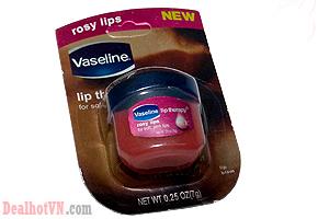 Combo 2 Son dưỡng môi mùi hoa hồng Vaseline Lip Therapy Rosy Lips 7g – chính hãng Pháp. Mang Đến Bạn Bờ Môi Căng Mọng, Quyến Rũ. Giá 78.000đ Tại Dealhotvn.com!