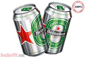Bia Heineken lon cao 500ml - Hà Lan