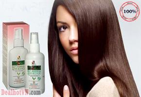 Xịt dưỡng tóc Vitamin kích thích mọc tóc, trị rụng tóc, nuôi dưỡng  tóc khỏe mạnh Homemade hàng xách tay từ Nga. Giá 130.000đ.