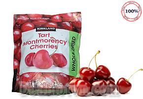 Quả Anh đào - Cherry sấy khô Kirkland Tart Montmorency Cherries 567gr hàng nhập từ Mỹ. Giá 329.000đ