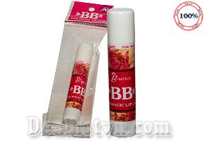Son dưỡng làm hồng môi BB Pink Magic Lip Care được nhập từ Thái giúp môi luôn mềm mượt, căng mọng. Giảm giá còn 55.000đ.