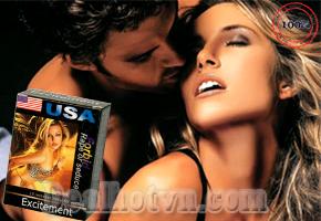 Thuốc kích dục dạng bột Excitement 2 hàng Mỹ. Giá 110.000đ