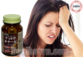 Viên uống Nattokinase 2000FU Orihiro - hàng chính hãng Nhật giúp tăng cường sức khỏe, giúp phục hồi, hỗ trợ điều trị tai biến nhờ các thành phần enzyme có trong đậu lên men Natto. Duy trì huyết áp luôn ở mức ổn định, cải thiện tình trạng suy giảm trí nhớ, tăng cường trí sinh lực. Giá 450.000đ.