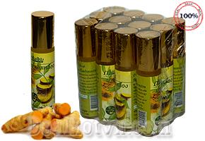 Dầu bi lăn tinh chất nghệ gừng 8cc Nhập khẩu Thái Lan – chuyên trị viêm xoang. Combo 3 chai giá 125.000đ
