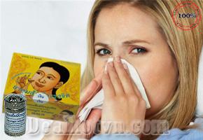 Ống hít trị viêm xoang hàng nhập khẩu từ Thái Lan giúp giảm đau đầu, nghẹt mũi, viêm mũi dị ứng...Giá 65.000đ.