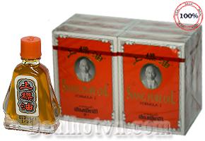 Combo 06 chai dầu gió hàng nhập khẩu Thái Lan hiệu Siang pure oil (7cc) giải tỏa triệu chứng nhức đầu, chóng mặt, đau lưng, thấp khớp, bong trật gân....Giá 200.000đ/6 chai, Chỉ có tại Dealhotvn.com