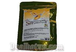 Tắm trắng body Sữa đậu nành Soy kết hợp sữa non, collagen tái tạo da, chống lão hóa, làm mờ vết thâm, đào thải độc tố, trắng da hoàn hảo. Giá 36.000đ.