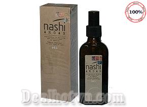 Tinh dầu dưỡng tóc Nashi Argan 100ml - hàng nhập khẩu từ Italy giúp phục hồi tóc hư tổn tạo sự mềm mượt, bóng khỏe cho mái tóc. Giá 170.000đ