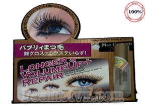 Serum dưỡng mọc mi Max Growth Premium hàng nhập khẩu từ Nhật Bản, kích thích lông mi mọc dài hơn, dầy hơn sau 14 ngày sử dụng, phù hợp người dùng mascara thường xuyên hoặc vừa nối mi. Giá 300.000đ.