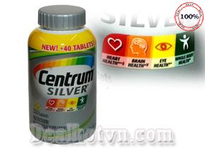 Centrum Silver Adults 50+ là vitamin tổng hợp dành cho người trên 50 tuổi. Centrum Silver Adults 50+ bổ sung đầy đủ các loại vitamin, khoáng chất thiết yếu như canxi, vitamin B tăng cường sức khỏe cho người già. Giá 590.000đ.