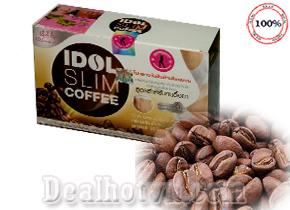 Eo thon, dáng đẹp chỉ với một cốc cà phê Idol Slim Coffee mỗi ngày nhập khẩu từ Thái Lan hiện đang được hàng triệu khách hàng tin dùng và đã giảm cân thành công. Sản phẩm có hương vị cực kỳ thơm ngon, dễ uống, với thành phần được chiết xuất 100% từ thiên nhiên. Giá 150.000đ