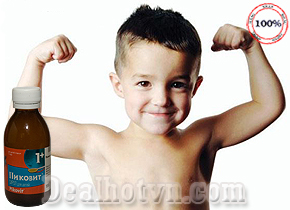 Siro Pikovit hàng nhập khẩu từ Nga giúp bé lười ăn, hấp thu kém, trả mới ốm trở nên khỏe nhạnh, tăng cường sức đề kháng, ăn ngon miệng. Giá 260,000đ. Đang có tại Dealhotvn.com!