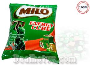 Kẹo Milo Energy cube thương hiệu Nestle 100 viên hàng Nigeria được nhập khẩu từ Thái Lan sản phẩm được người lớn và trẻ nhỏ yêu thích. Giá 150.000đ.