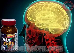 Thuốc bổ não DHA 1000 ITHO hàng chính hãng Nhật Bản có tác dụng tăng cường trí nhớ, xả stress ở những người làm việc trí óc, hỗ trợ phát triển hệ thần kinh ở trẻ, làm giảm lượng cholesterol ở người già. Giá 540.000đ