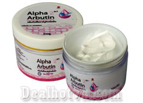 Kem dưỡng kích trắng body Alpha Arbutin được xem như là một trong những giải pháp giúp làn da bạn trắng sáng đẹp tự nhiên an toàn hơn. Giá 49.000đ