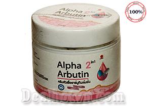 Kem dưỡng kích trắng body Alpha Arbutin chính hãng Thái Lan được xem như là một trong những giải pháp giúp làn da bạn trắng sáng đẹp tự nhiên an toàn hơn. Giá 88.000đ
