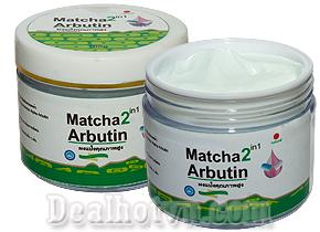 Kem dưỡng kích trắng body Alpha Arbutin 2 in 1  trà xanh giúp làn da bạn trắng sáng đẹp tự nhiên an toàn hơn. Giá 49.000đ