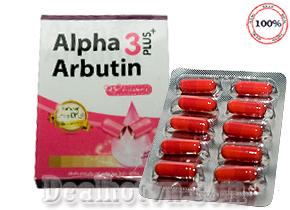 Alpha Arbutin 3 plus+  thuốc kích trắng da chính hãngThái Lan là viên nang trắng da công nghệ mới sở hữu biện pháp vượt trội kích thích làn da trắng sáng một cách bất ngờ. Giá 60.000đ