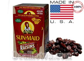 Chỉ với 360.000đ bạn sẽ sở hữu ngay hộp nho khô không hạt cao cấp hiệu Sun- Maid Natural California 2.042kg được nhập khẩu từ Mỹ so với giá gốc 490.000đ, chỉ có tại dealhotvn.com!