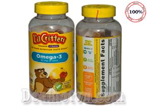 Kẹo Gấu L'il Critters Omega-3 DHA hàng nhập khẩu từ Mỹ bổ sung DHA cho bé, giàu dưỡng chất, tăng cường trí tuệ cho bé thông minh hơn. Giá 420.000đ.