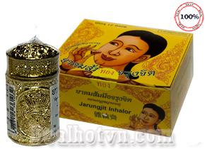 Ống hít điều trị viêm xoang Jarungjit inhalor hàng nhập khẩu từ Thái Lan giúp giảm đau đầu, nghẹt mũi, viêm mũi dị ứng...Giá 75.000đ.