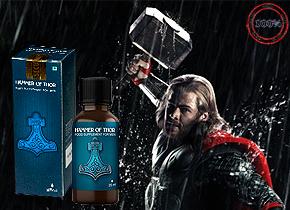 Giọt dưỡng chất Hammer Of Thor - hàng Nhập khẩu từ Nga là giải pháp tốt nhất được làm từ các thành phần tự nhiên độc đáo, giúp tăng nồng độ testosterone trong máu, kích thích chức năng tình dục một cách tự nhiên. Nam giới ở mọi độ tuổi nhận thấy sự cải thiện về chức năng cương dương và tăng thời gian quan hệ tình dục. Giá 290.000đ
