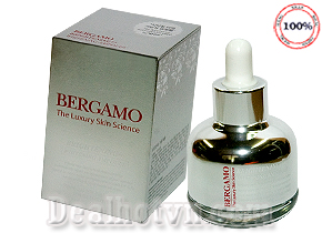 Serum Bergamo The Luxury Skin Science Brightening Ex Whitening dưỡng trắng da, ngăn ngừa lão hóa 30ml – chính hãng Hàn Quốc. Giá 220.000đ.