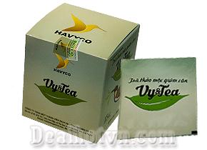 Trà Thảo Mộc Vy &Tea giảm cân nhanh an toàn hiệu quả lấy lại vóc dáng cân đối sau 2 tuần sử dụng. Giá 340.000đ