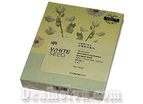 Kem tắm trắng body White Seed Thefaceshop (Real Whitening Esscence Spa body toàn thân Wash) là dòng kem tắm and dưỡng trắng mới sản xuất của Thefaceshop, có khả năng làm cho trắng da & dưỡng từ sâu phía bên trong, vứt bỏ hắc tố Melamin gây sạm da, nám, tàn nhang, cho bạn một làn da mịn màng & trắng hồng tự nhiên. Giá 75.000đ
